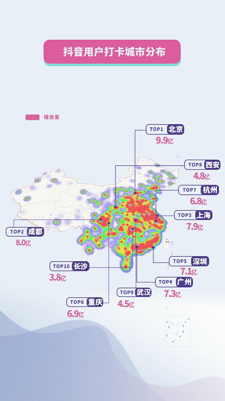 国庆大数据:天安门广场是全国最热景点