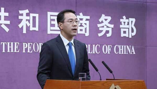 File photo of the spokesman of the Chinese commerce ministry. [Photo: China.com.cn]