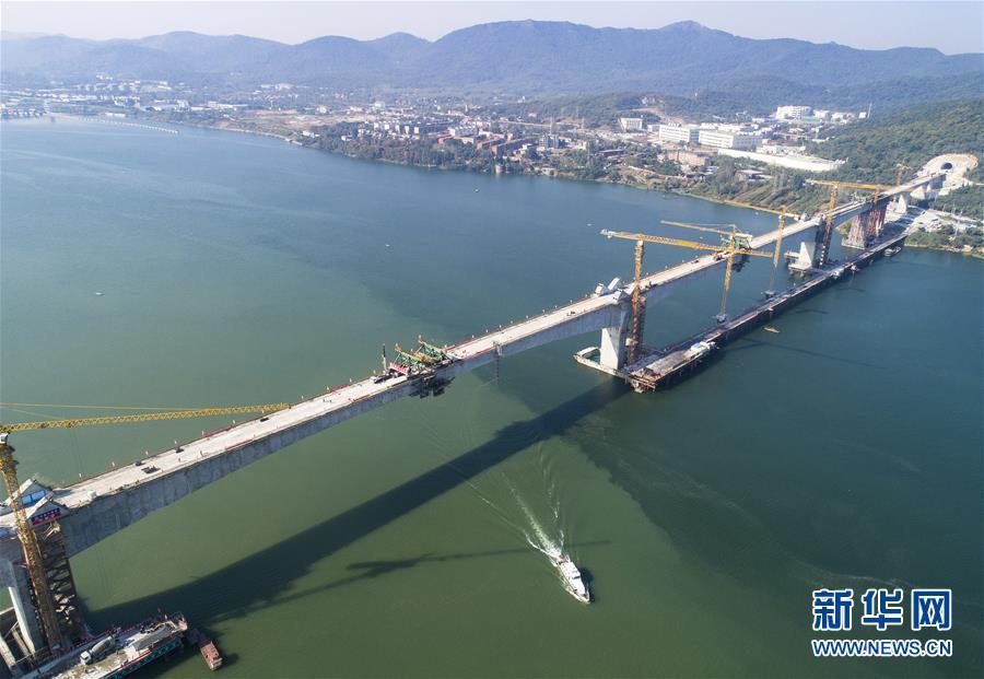 (经济)(1)汉十高铁实现全线贯通