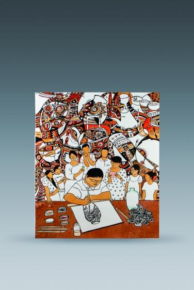 新时代墨彩瓷绘的创新性发展