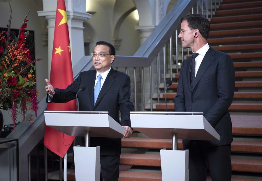 THE NETHERLANDS-THE HAGUE-CHINA-LI KEQIANG-DUTCH PM-MEETING