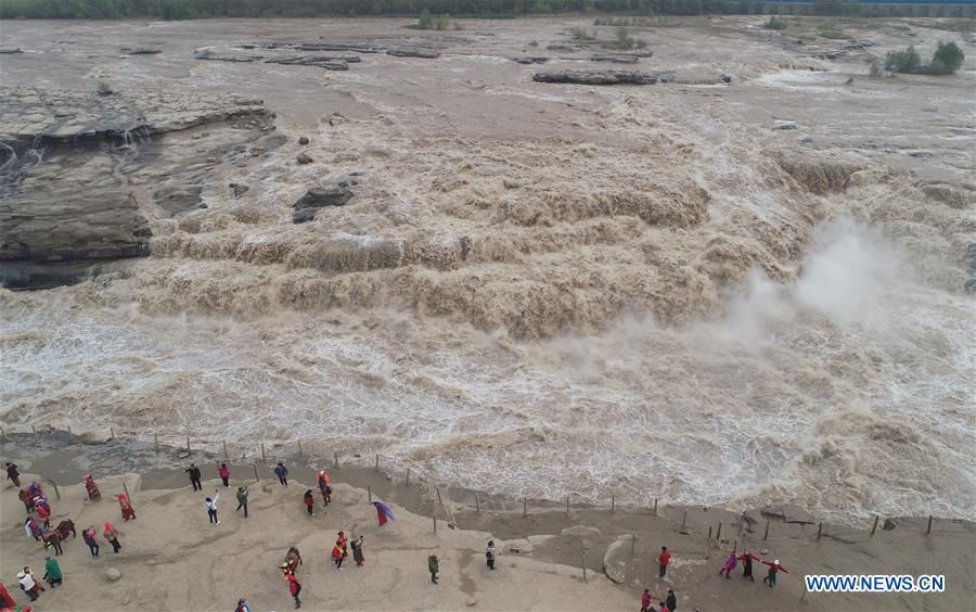 CHINA-SHAANXI-HUKOU WATERFALL (CN)