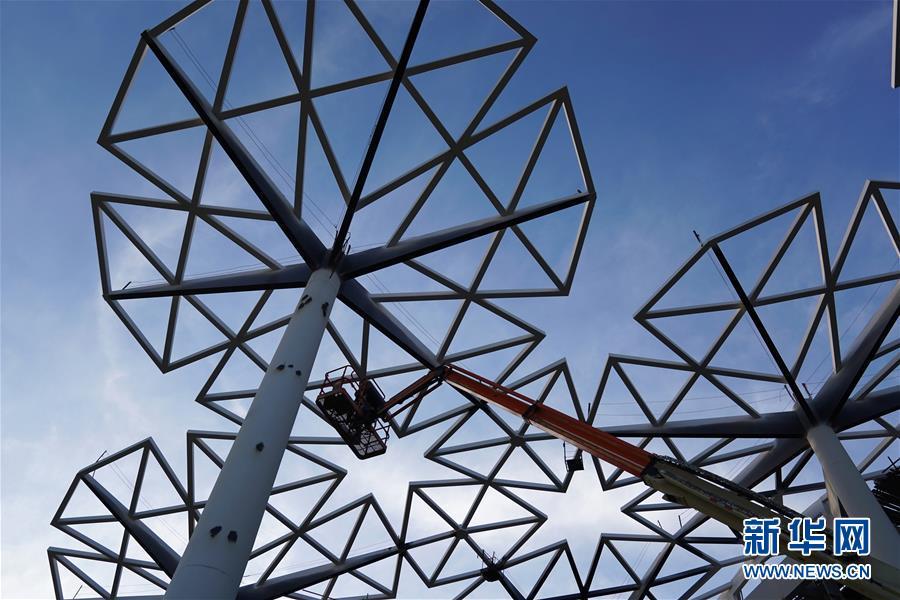 (社会)(4)北京世园会园区建设基本成形