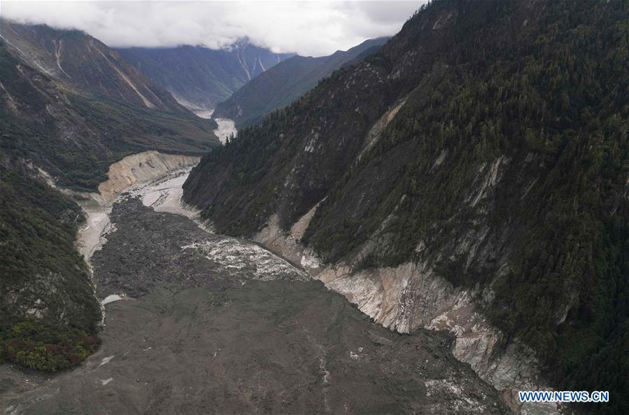 CHINA-TIBET-LANDSLIDE-BARRIER LAKE (CN)
