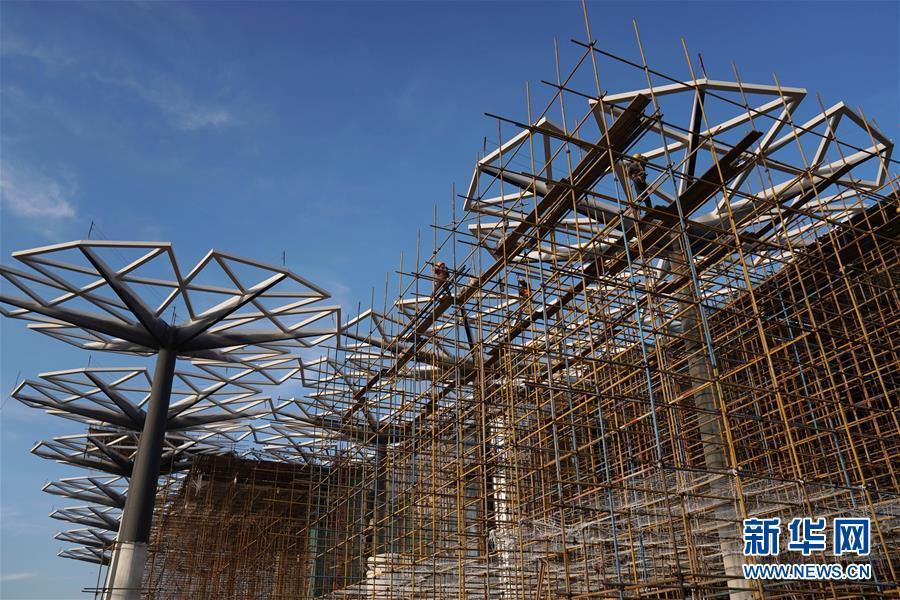 (社会)(3)北京世园会园区建设基本成形