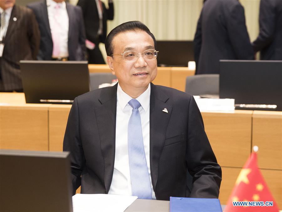 BELGIUM-BRUSSELS-CHINA-LI KEQIANG-ASEM-SUMMIT