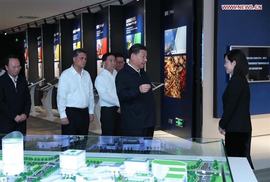 CHINA-GUANGDONG-ZHUHAI-XI JINPING-INSPECTION (CN)