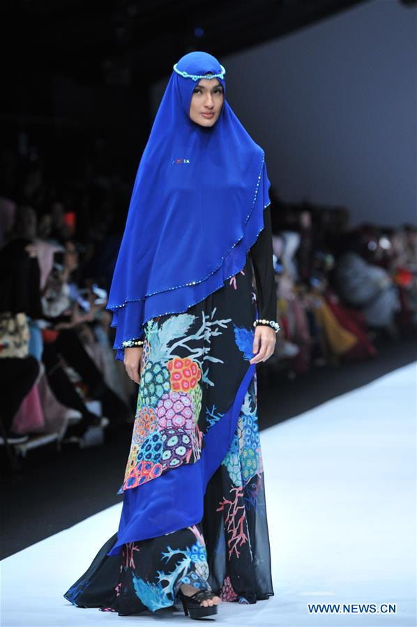 Creations presented during Jakarta Fashion Week
