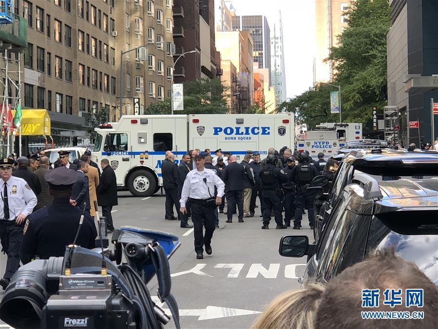 (国际)(1)美国有线电视新闻网纽约办公地点发现有爆炸装置包裹