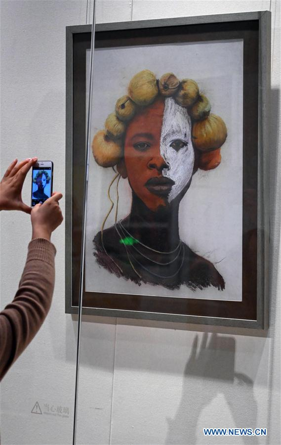 "1st ""Belt and Road"" Afro-Sino Art Exchange Exhibition held in Beijing"