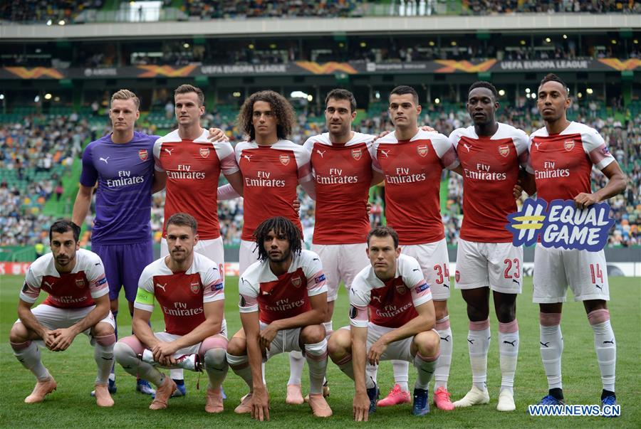 Arsenal FC beats Sporting CP 1-0 during Europa League Group E third round match