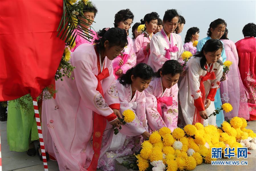 (国际)(1)中朝举行中国人民志愿军烈士陵园修缮竣工仪式