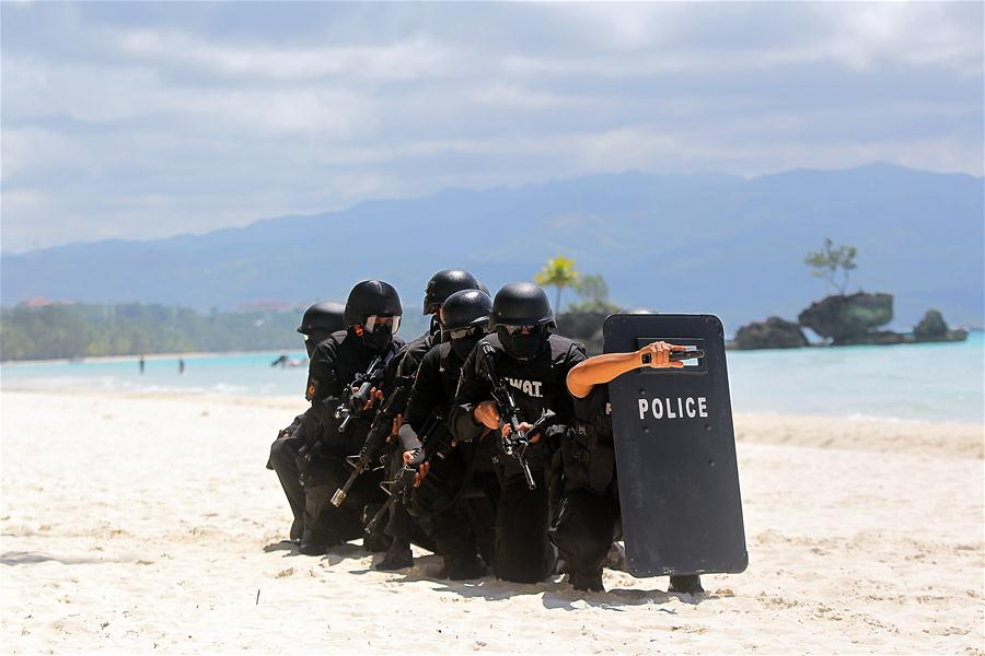 Security capability demonstration held in the Philippines