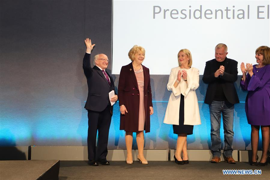Higgins re-elected as Irish president