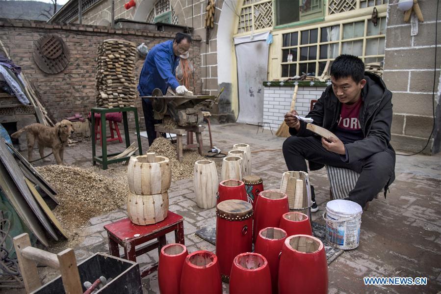 Folk arts boost cultural tourism in Yan'an, NW China