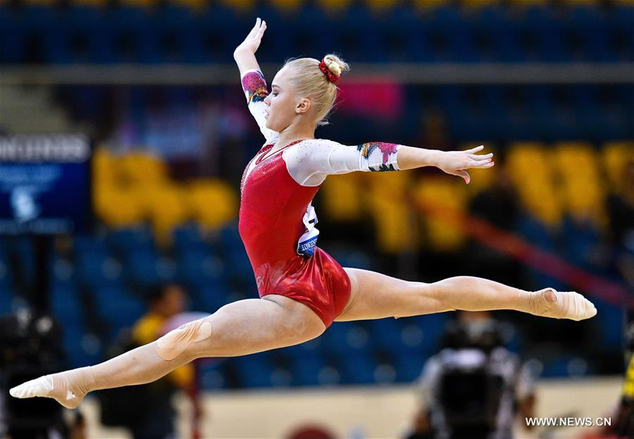 (SP)QATAR-DOHA-FIG-ARTISTIC GYMNASTICS WORLD CHAMPIONSHIPS