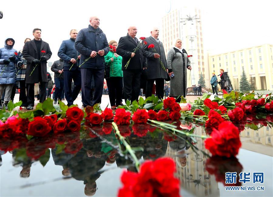 (国际)(2)白俄罗斯纪念十月革命101周年