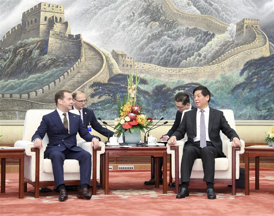 CHINA-BEIJING-LI ZHANSHU-RUSSIAN PM-MEETING (CN)