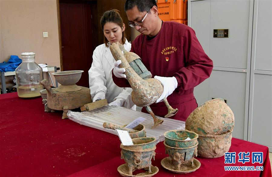 (文化)(7)洛阳发现西汉大墓