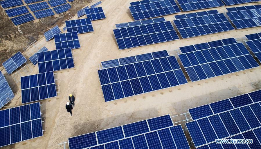CHINA-SHAANXI-RURAL ECONOMY-SOLAR POWER (CN)