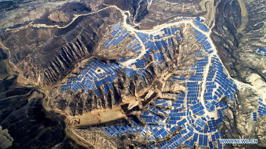 CHINA-SHAANXI-RURAL ECONOMY-SOLAR POWER (CN)