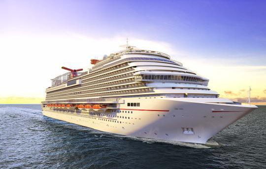 An artist's rendering of China's 135,000-metric ton cruise ship, which will be built by China State Shipbuilding Corporation in partnership with British-American cruise operator Carnival Corporation and the Italian shipbuilder Fincantieri. [Photo provided by CSSC]