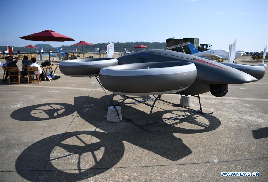 CHINA-GUANGDONG-ZHUHAI-AIRSHOW-UAS-DEVELOPMENT (CN)