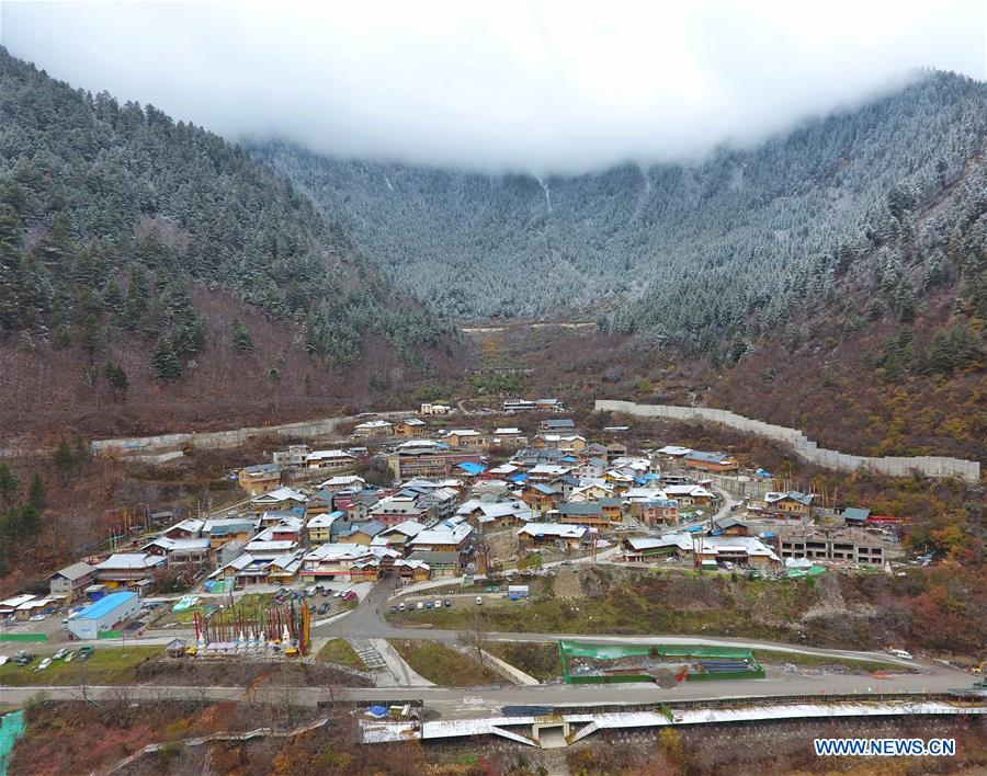 CHINA-SICHUAN-JIUZHAIGOU-SCENERY (CN)
