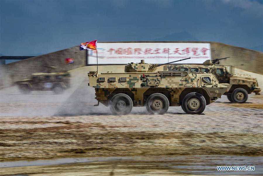 CHINA-GUANGDONG-ZHUHAI-AIRSHOW-GROUND MILITARY EQUIPMENTS (CN)