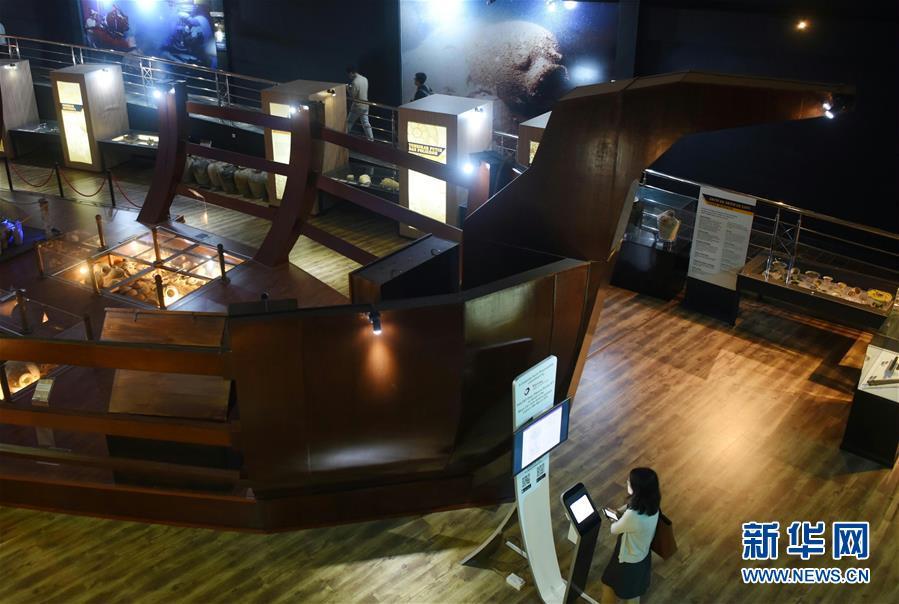 (国际・图文互动)(1)中文交往与海上丝路的历史见证――访文莱海事博物馆