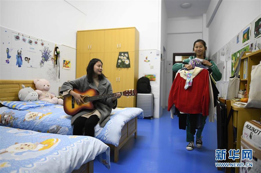 """(图片故事)(3)湘西大山深处:125个孩子一个""""家"""""""