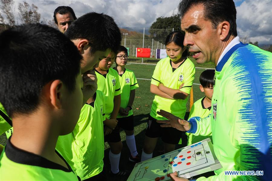 SPAIN-BARCELONA-CHINA-YOUNG FOOTBALL PLAYER