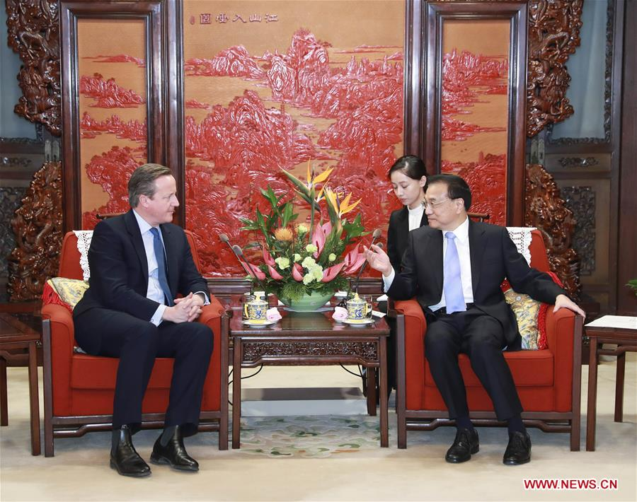 CHINA-BEIJING-LI KEQIANG-FORMER BRITISH PM-MEETING (CN)
