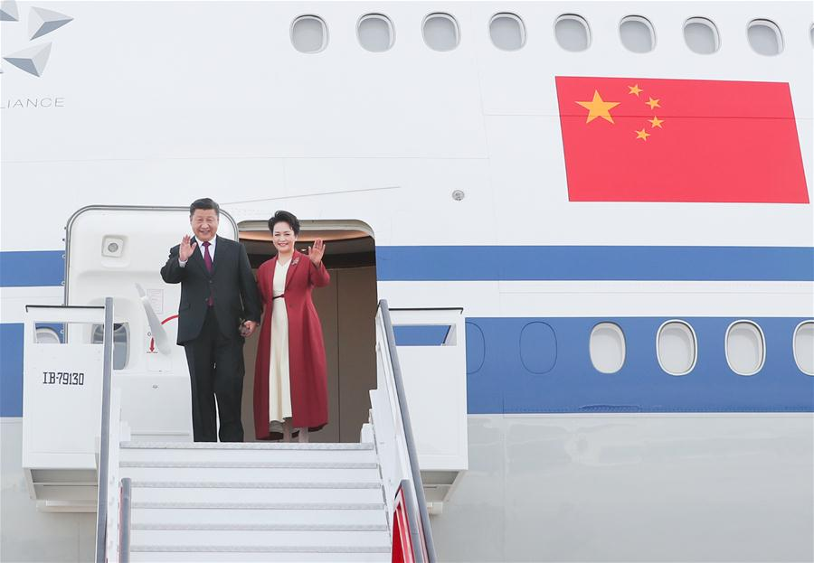 SPAIN-MADRID-XI JINPING-STATE VISIT-ARRIVAL