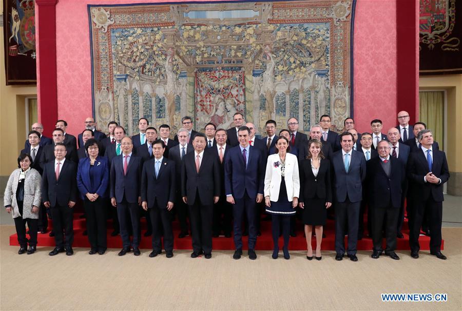 Xi urges Spanish enterprises to make best use of CIIE