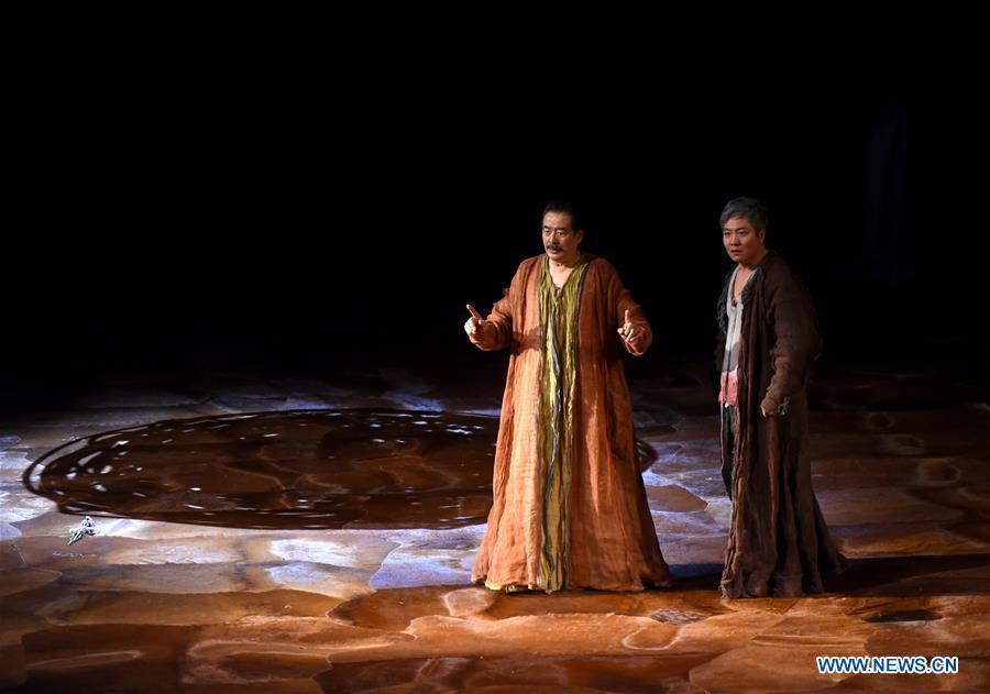 Drama Hamlet premieres in Beijing