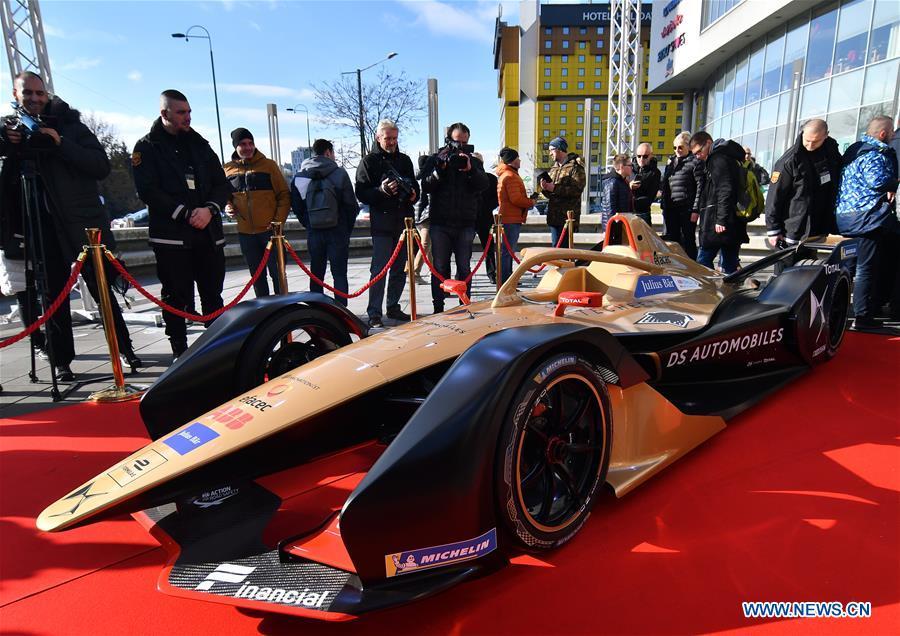Techeeta team leaders promote Sarajevo's candidacy to host Formula E race