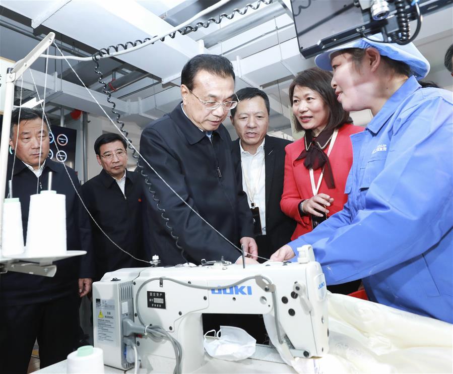 CHINA-JIANGSU-LI KEQIANG-INSPECTION (CN)