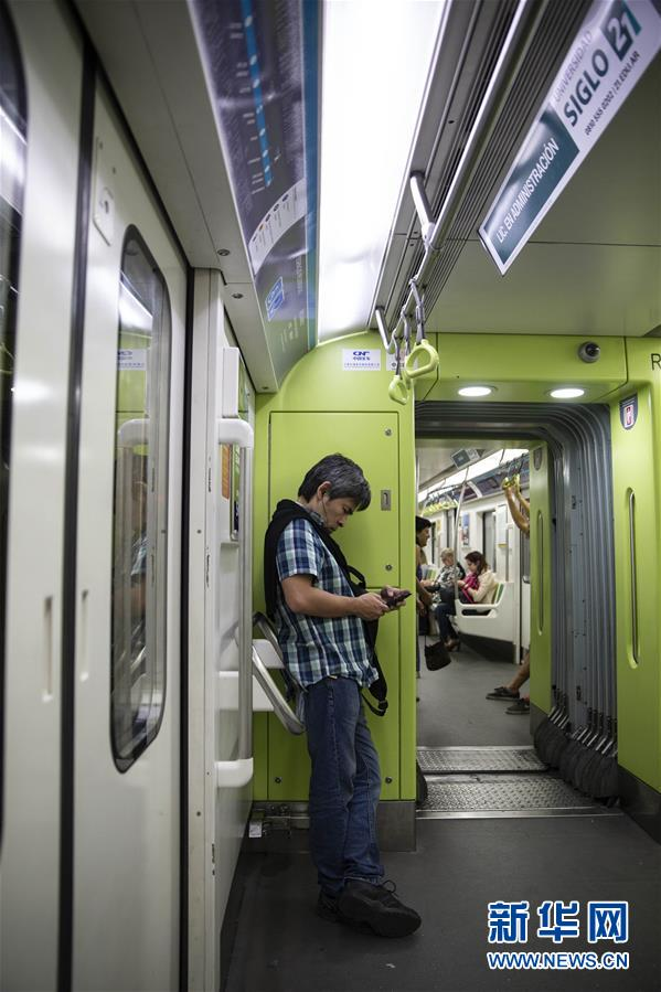 (国际)(1)中国地铁列车改善布宜诺斯艾利斯市民出行