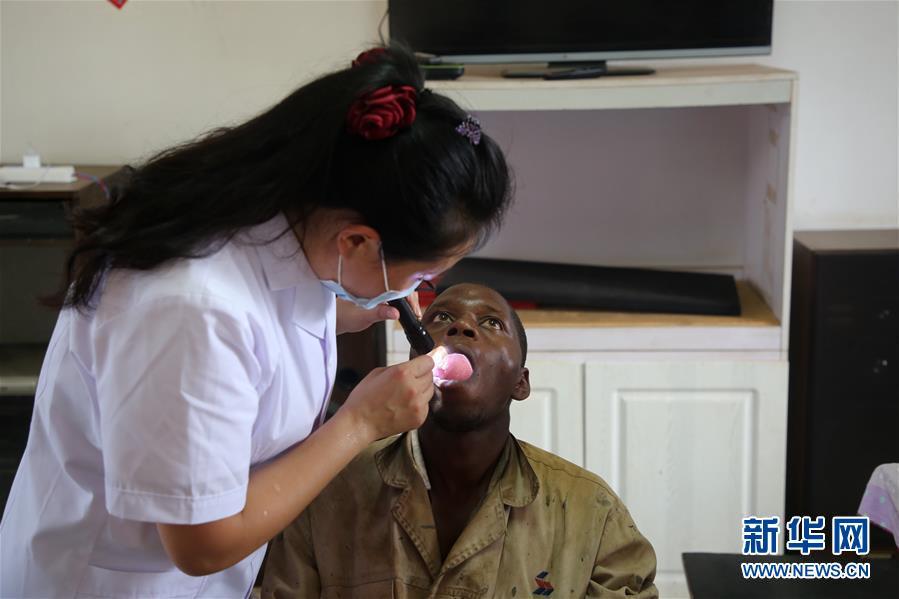 (XHDW)(2)中国援卢旺达医疗队到中国援建项目义诊