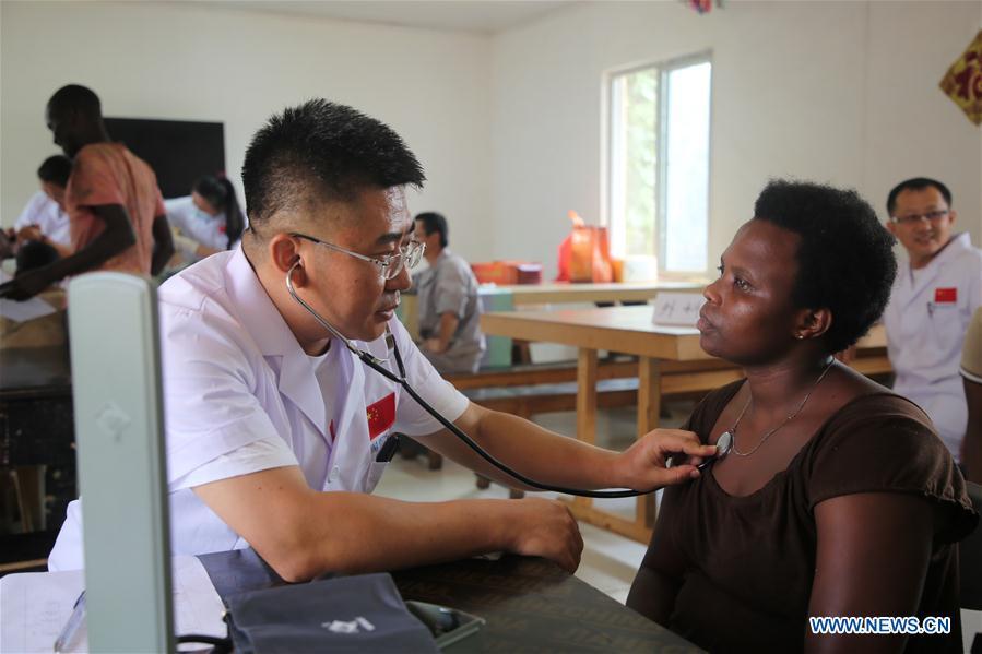 RWANDA-KIGALI-CHINESE MEDICAL TEAM-HEALTH CARE