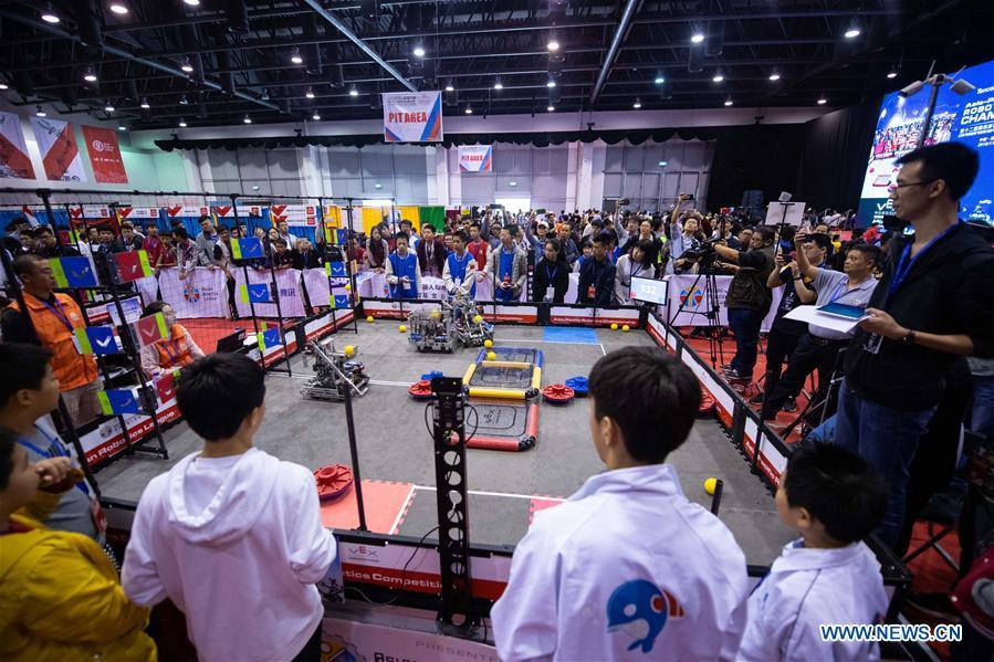 CHINA-MACAO-VEX ROBOT-ASIAN CHAMPIONSHIP-FINAL (CN)