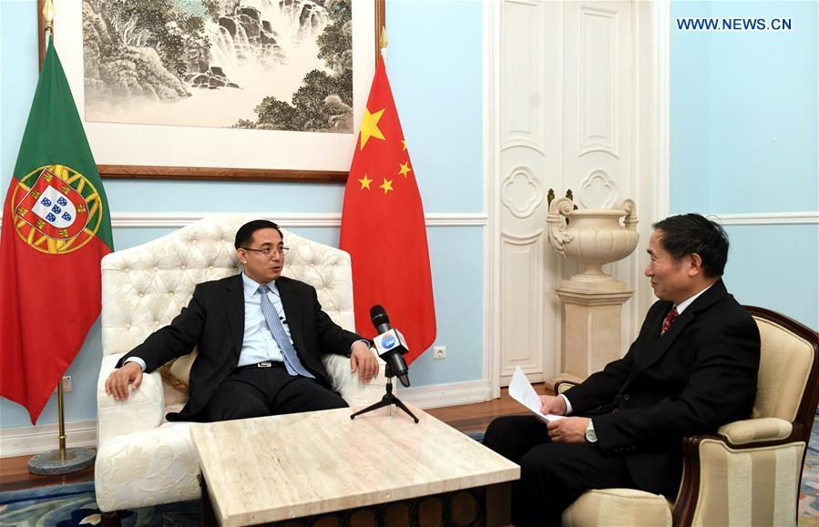 PORTUGAL-LISBON-CHINESE AMBASSADOR-INTERVIEW