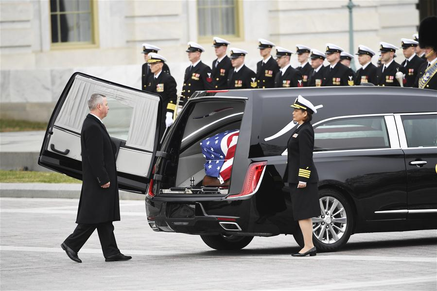 U.S.-WASHINGTON D.C.-GEORGE H.W. BUSH-STATE FUNERAL