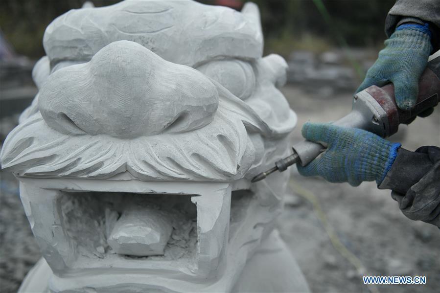 CHINA-HUBEI-ENSHI-ROCK CARVING (CN)