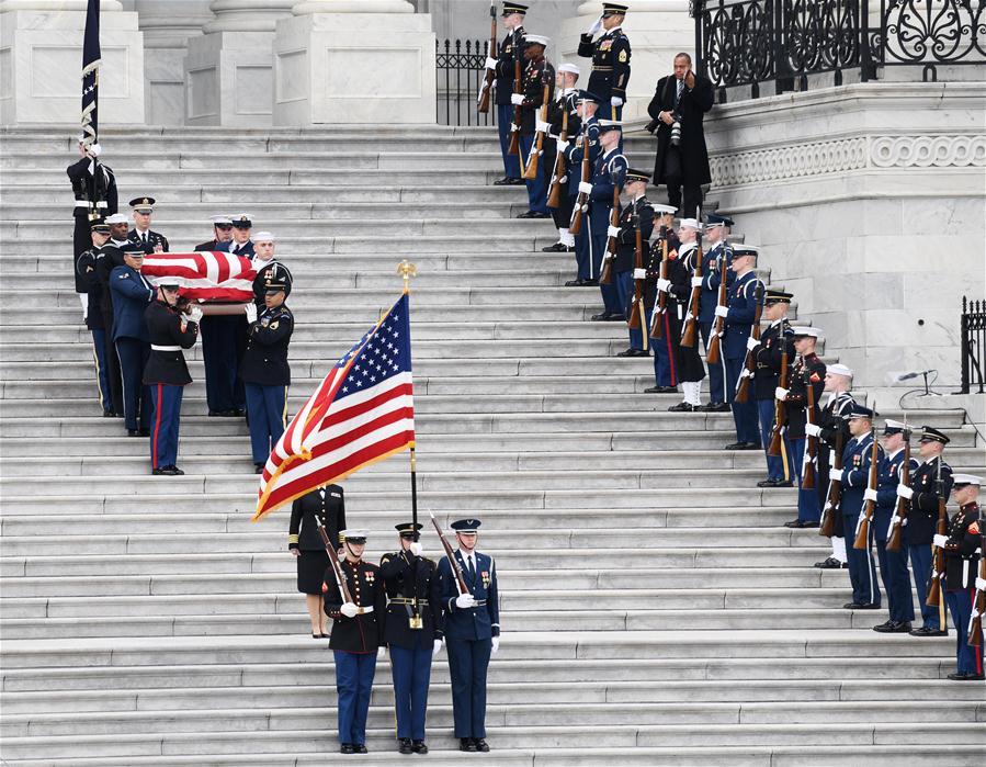 U.S.-WASHINGTON D.C.-GEORGE H.W. BUSH-STATE FUNERAL