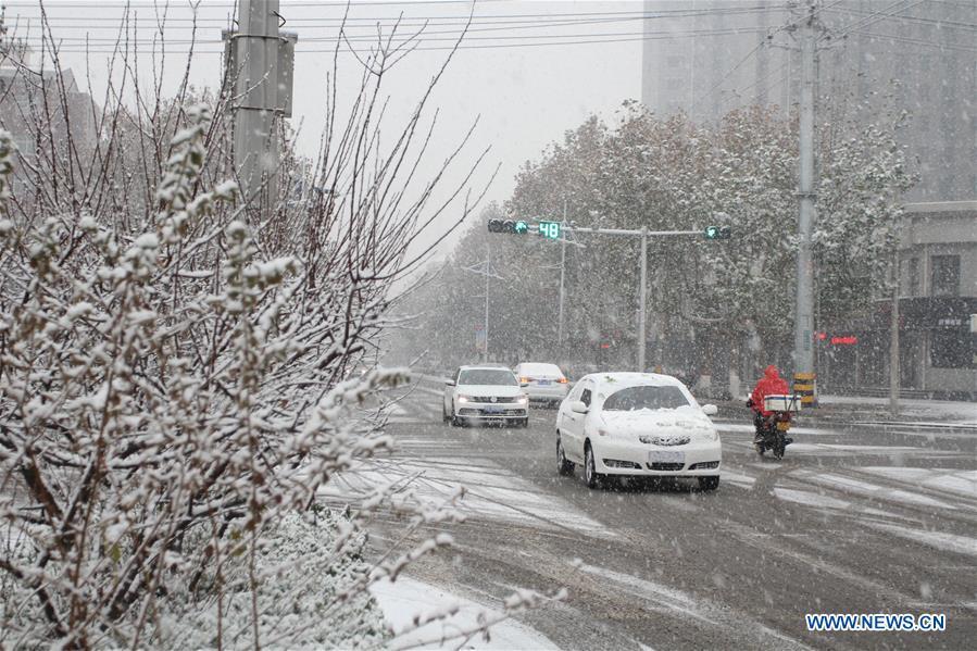 CHINA-HEBEI-SHIJIAZHUANG-SNOW (CN)
