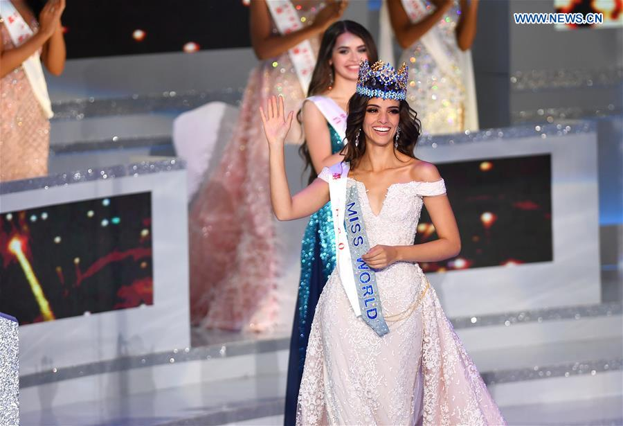 Miss Mexico crowned Miss World in Sanya