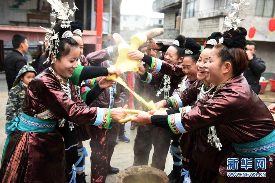 (文化)(1)贵州黎平:侗族同胞闹侗年