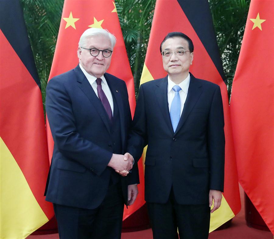 CHINA-BEIJING-LI KEQIANG-GERMAN PRESIDENT-MEETING (CN)